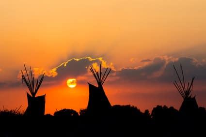Die Legende des Traumfängers der Ojibwa (Chippewa) Indianer