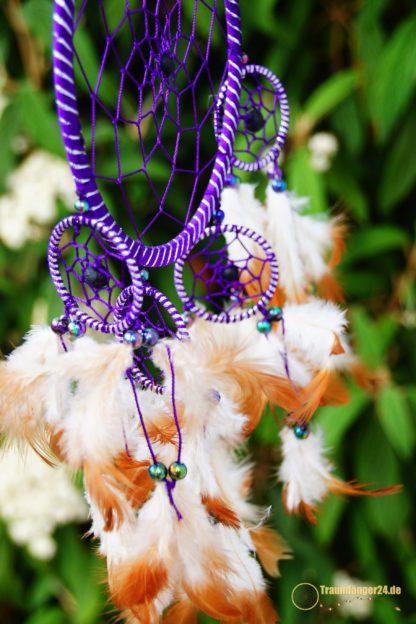 Traumfänger Kiyuga lila Details