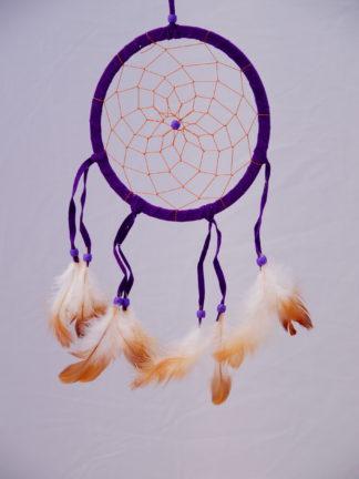 Traumfänger Lakota lila