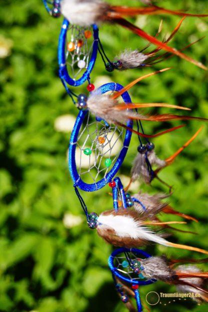 Traumfänger Miakoda blau Details