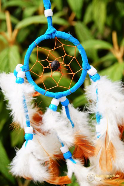 Traumfänger Michikinikwa blau Details