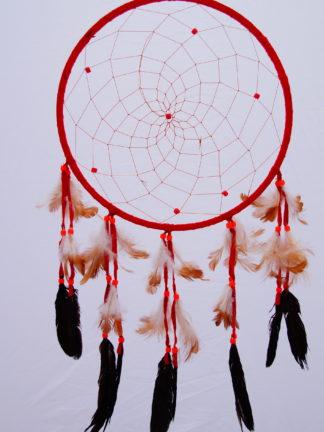 Traumfänger Poncha rot