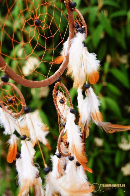 Traumfänger Quanah braun Details