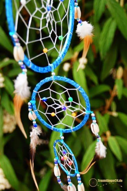 Traumfänger Wapi blau Details