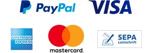 PayPal und Kreditkarte